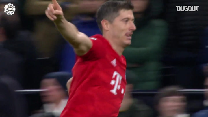 Robert Lewandowski finishes fantastic move vs Tottenham Hotspur