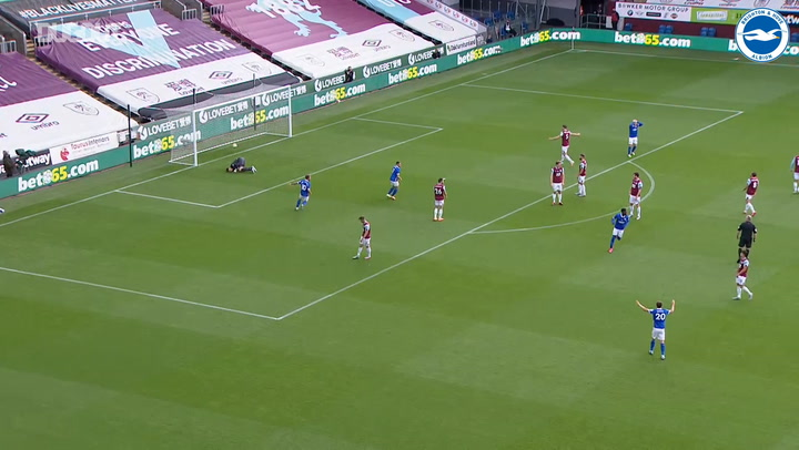 Yves Bissouma smashes home stunner for first Premier League goal