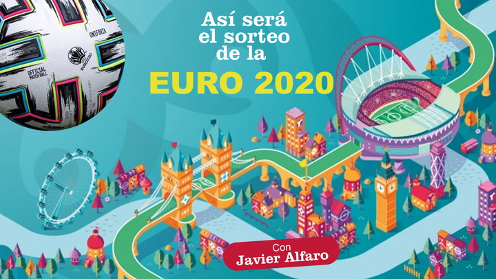 Así será el sorteo de la fase final de la Eurocopa 2020