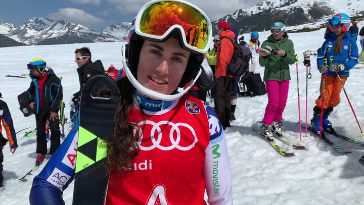 Núria Pau se lleva el Campeonato de España de Slalom