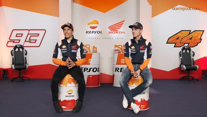 Entrevista a Marc Márquez y Pol Espargaró sobre la temporada 2021 de MotoGP