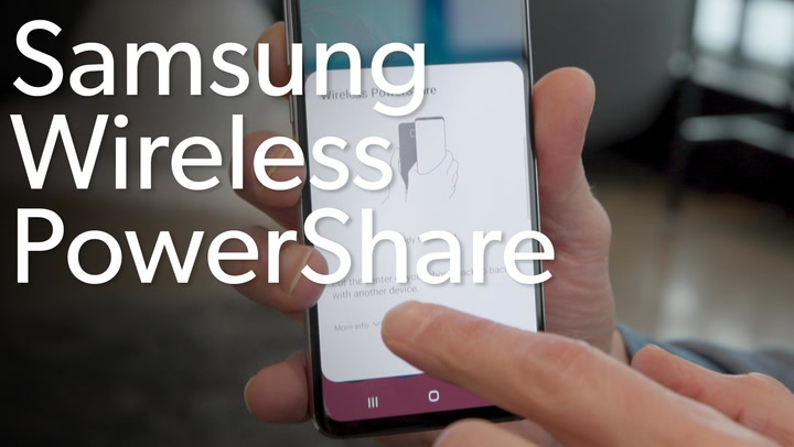 How to use Wireless PowerShare on the Galaxy S10 to charge your