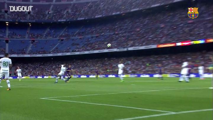 Los tres goles olvidados del Barça en el Trofeo Gamper