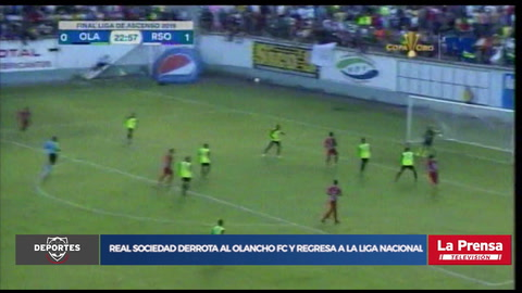 ¡La Real Sociedad se impone en penales al Olancho FC y vuelve a la primera división!