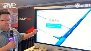 AVI LIVE: Newline Interactive Demos X6 Interactive Display with Zoom Room Integration