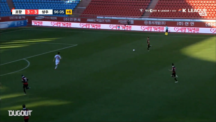 Pohang stun Sangju with outrageous 97th minute winner
