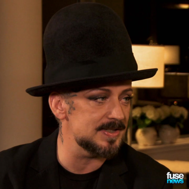 """Boy George to Eminem: """"Gay Slurs Aren't Ironic If You're Getting Beaten"""""""