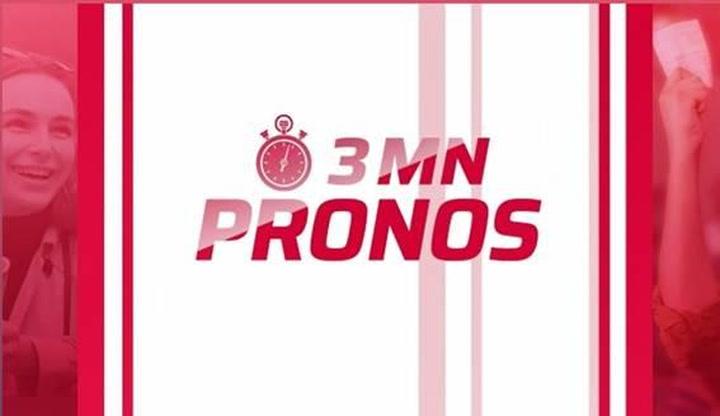 Replay 3 mn pronos - Lundi 13 Septembre 2021