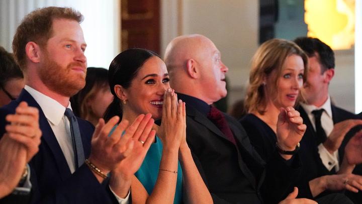 ¡Qué romántico! Los duques de Sussex asisten en directo a una inesperada petición de matrimonio