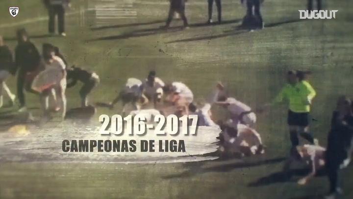 Madrid CFF, history made