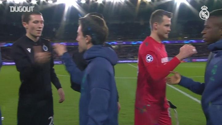 Com gols de Vinicius Jr. e Rodrygo, Real bate o Brugge na Champions
