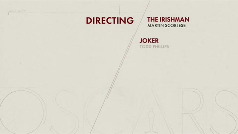 Martin Scorsese y Quentin Tarantino, nominados al Óscar a mejor director