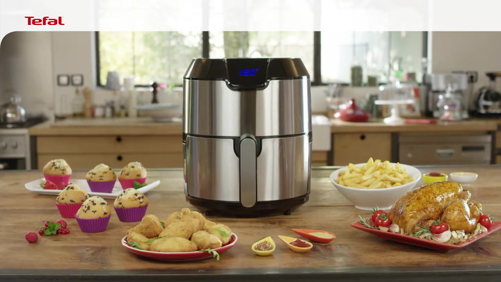 Preview image of Tefal Easy Fry Deluxe 4.2L Airfryer, 1.2kg video