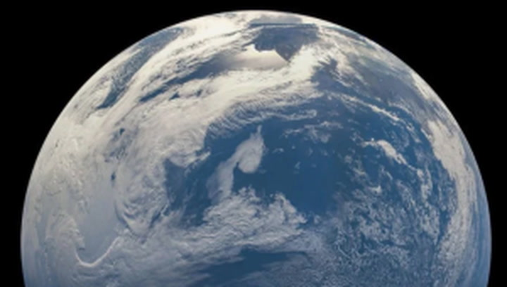 Stunning images of Earth from space captured by Nasa probe