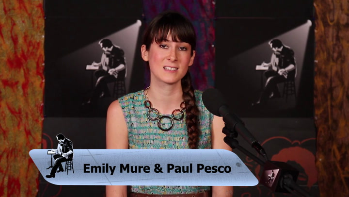 Emily Mure and Paul Pesco perform Unfettered on The Jimmy Lloyd Songwriter Showcase