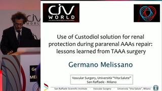 Protection rénale par le Custodiol pour la chirurgie des AAA para-rénaux : leçons tirées de l