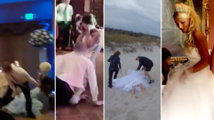 Fem bryllup som ble brudens verste mareritt