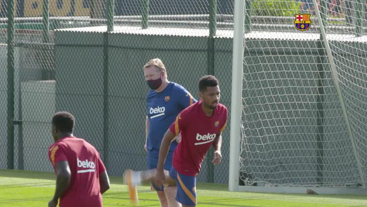 El Barça continúa la preparación en la Ciudad Deportiva