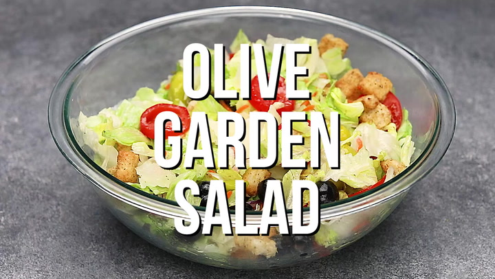 Olive Garden Salad Recipe Dinner At The Zoo