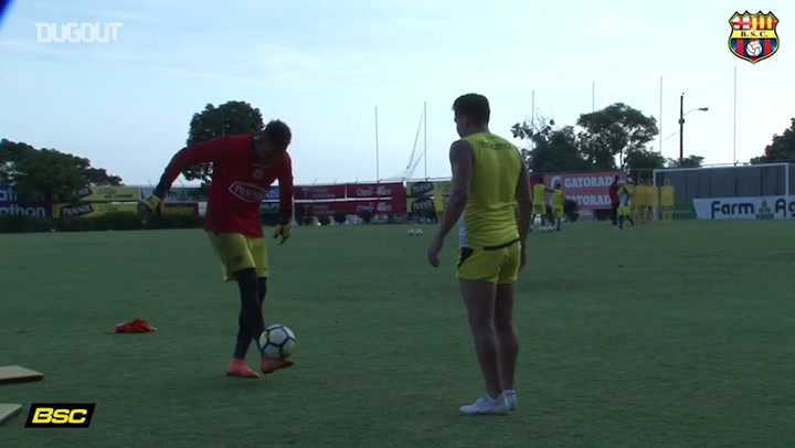 Barcelona SC Kick Up Challenge