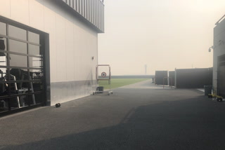 Vegas Nation: Raiders hold indoor walkthrough due to fires