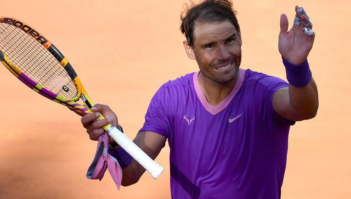 Rafa Nadal, espectacular revancha ante Zverev y a semifinales de Roma