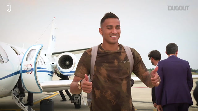 DANILO ARRIVES IN TURIN