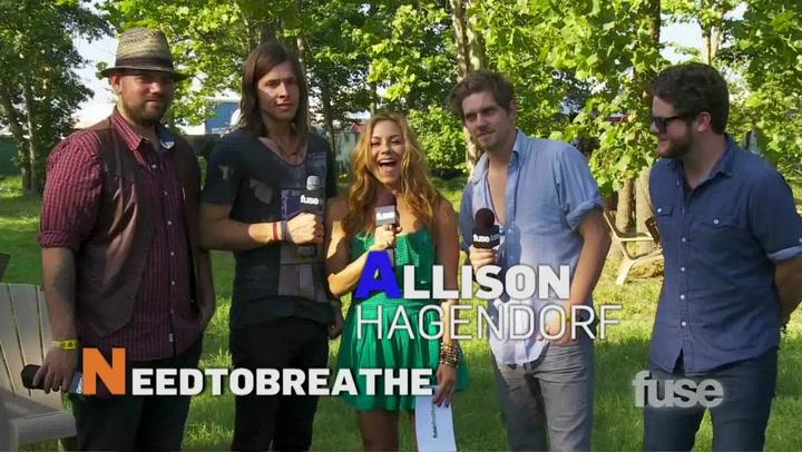 Festivals: Bonnaroo:  NEED TO BREATHE Interview