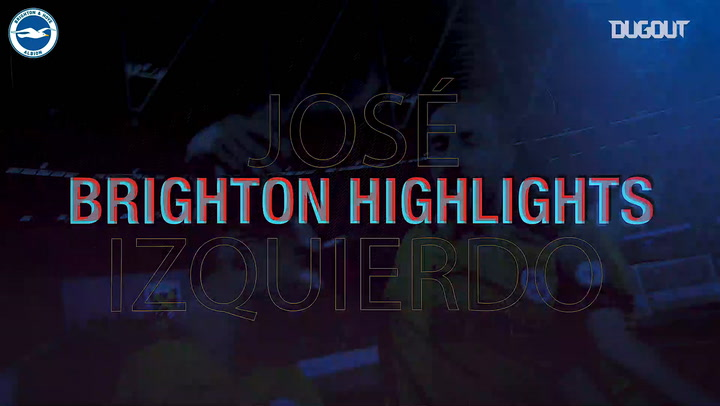 Los mejores momentos de José Izquierdo con el Brighton