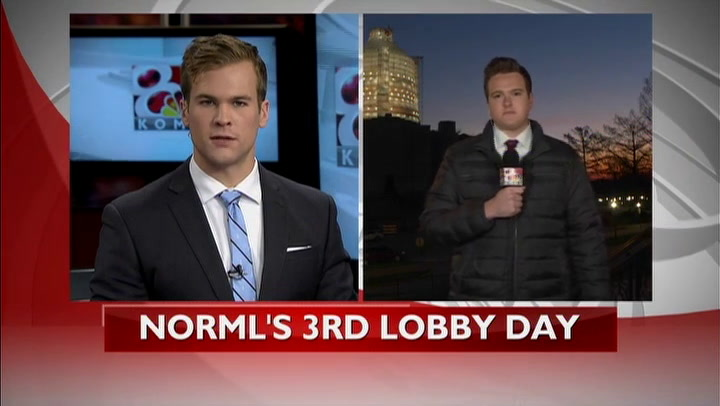 NORML to lobby at state capitol Wednesday