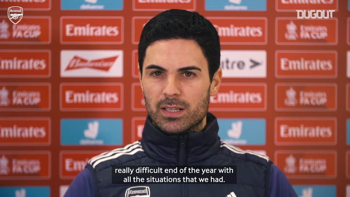 Arteta discusses FA Cup win and January ins and outs ahead of Newcastle