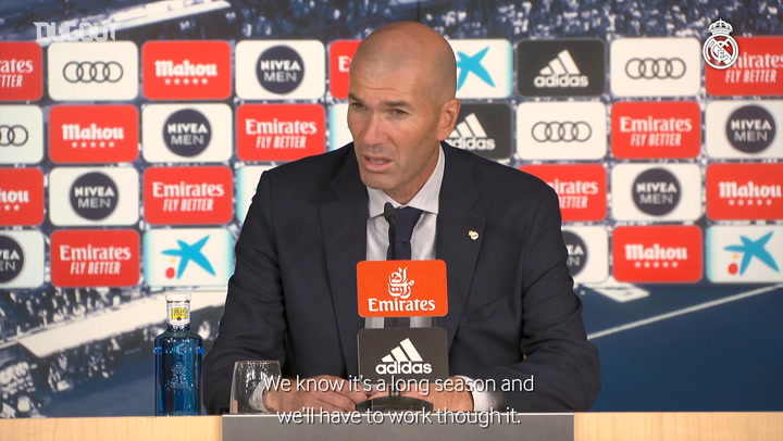 Zidane Happy To Secure LaLiga Top Spot