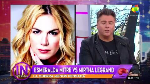 Esmeralda Mitre dijo que Mirtha es ordinaria, resentida, y envidiosa