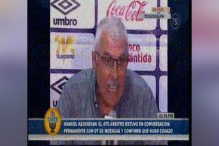 Manuel Keosseián arremete contra Motagua en conferencia de prensa