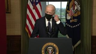 Biden dice que es momento de