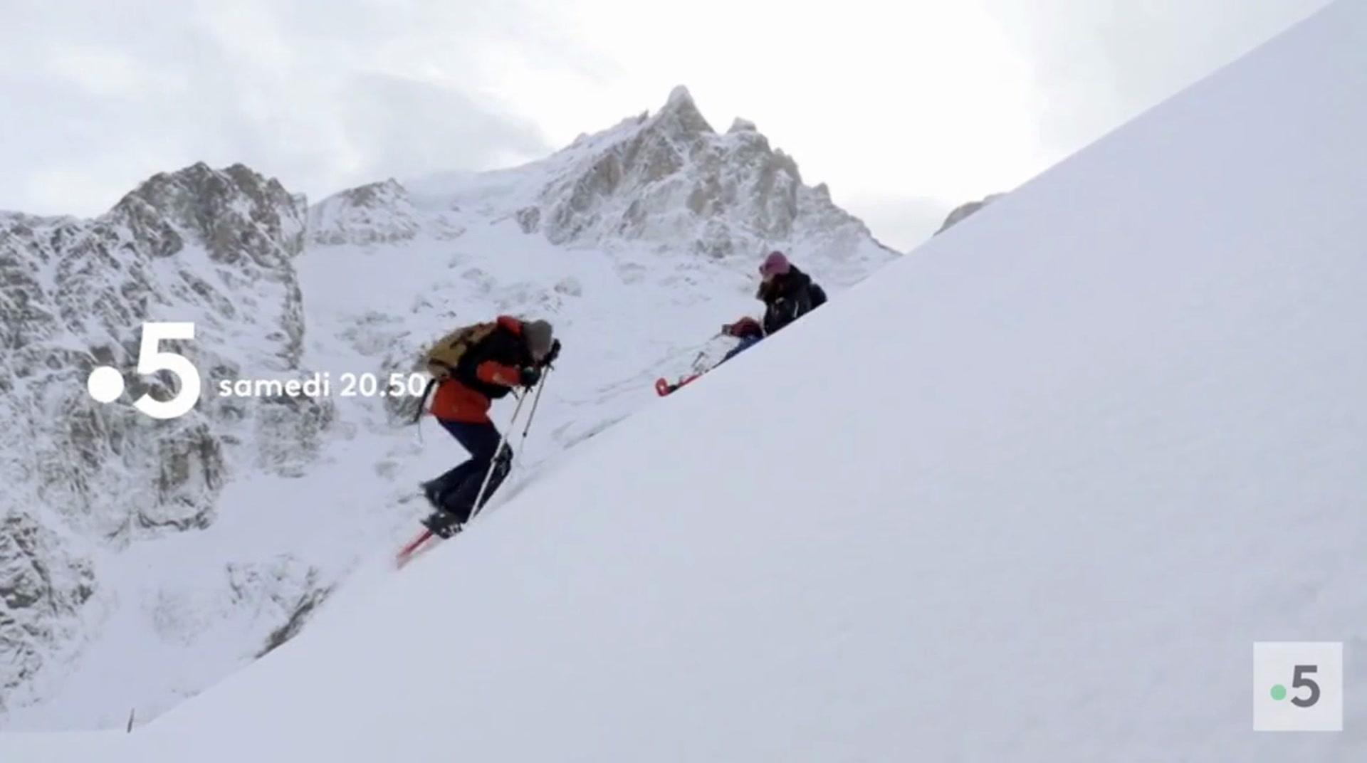Echappées belles : Les Ecrins sous la neige