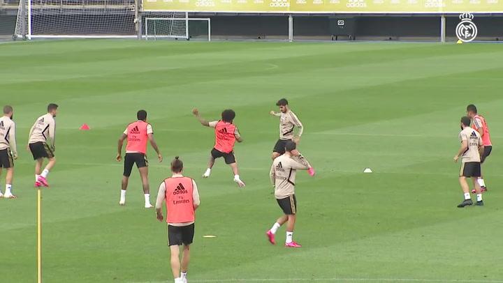 El Madrid prosigue su puesta a punto