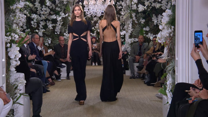 Stars turn out for Ralph Lauren\'s show at New York Fashion Week