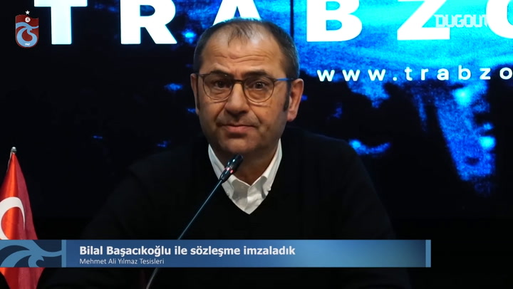 Bilal Başaçıkoğlu Trabzonspor'da!