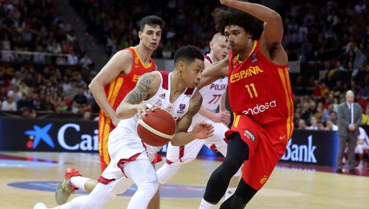 Resumen del España - Polonia (69-80) de la fase de clasificación para el Eurobasket 2021