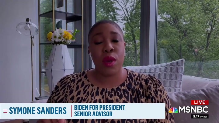 Symone Sanders: Biden 'Committed to Putting a Black Woman on the ...