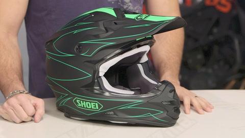 Shoei VFX-W Hectic Helmet (XS)