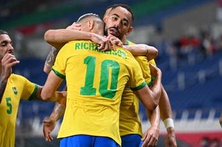 La selección de Brasil vence a Egipto y pasa a semifinales del fútbol olímpico masculino