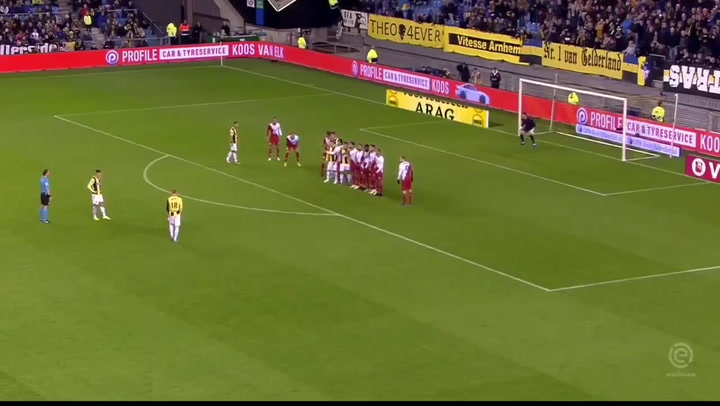 El golazo de Odegaard con el Vitesse