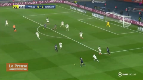 PSG 4-3 Burdeos (Ligue 1)