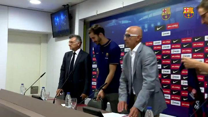 Pau Ribas, 5 años con el FC Barcelona