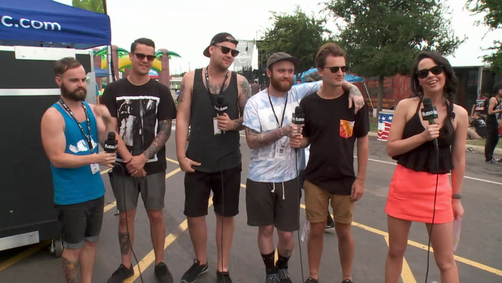 Interviews: Beartooth (Warped Tour 2014)