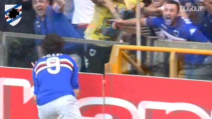 Pozzi's header against Sassuolo