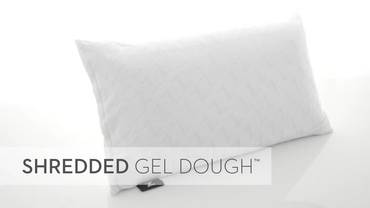 Preview image of Malouf Z Shredded Gel Dough Queen Memory Foam Pill video