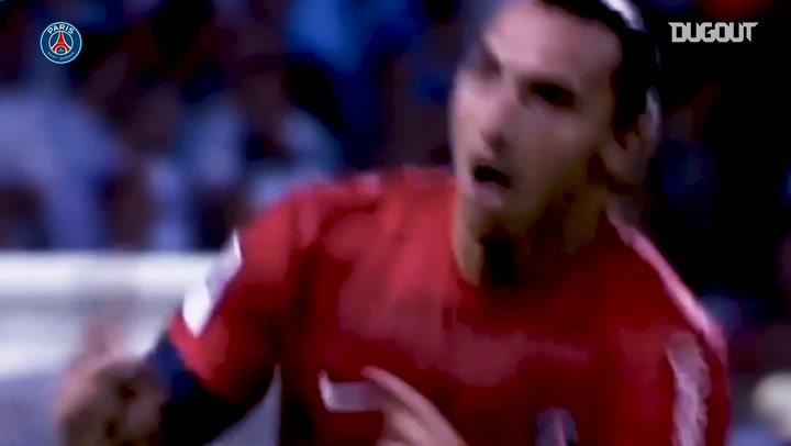 Paris Saint-Germain's best free-kicks